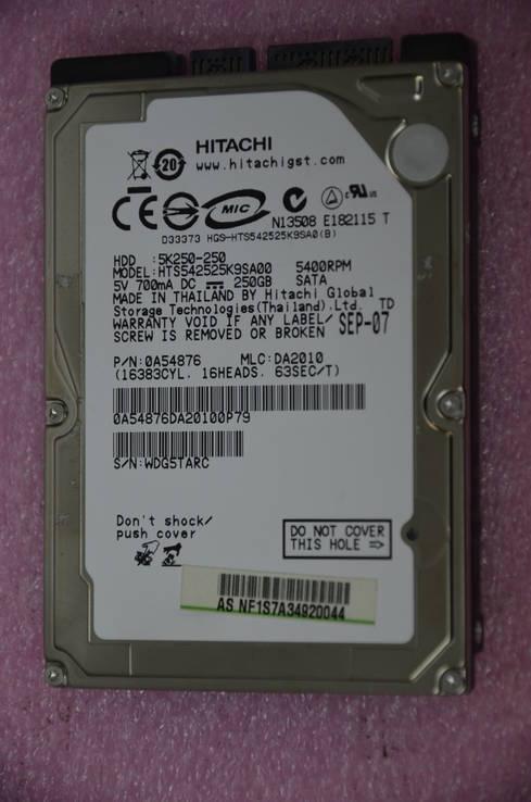 Жесткий диск Hitachi (HGST) Travelstar Z5K320 250GB 5400rpm
