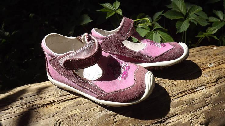 Туфли IMAC для девочки замшевые 23 размер.