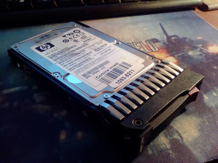 Жесткий диск HP 146GB 10K SAS
