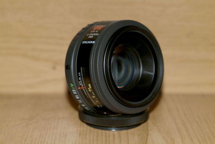 SMC Pentax-F f1.7/50mm