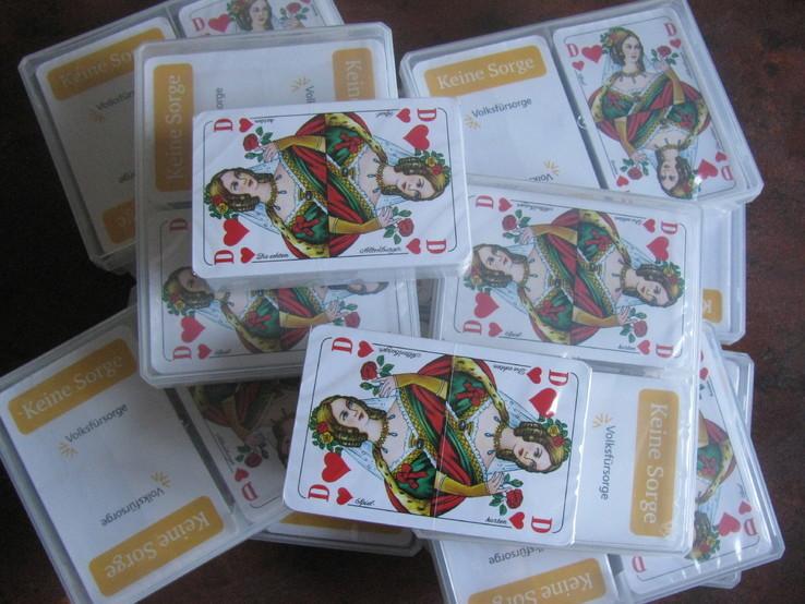 Карти гральні нові Німечина 55 карт, 20 колод