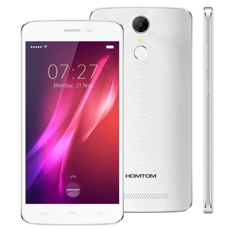 HOMTOM HT27 White 5.5'' 1Gb 8Gb 4ядра 3000mAh 3G + Подарок