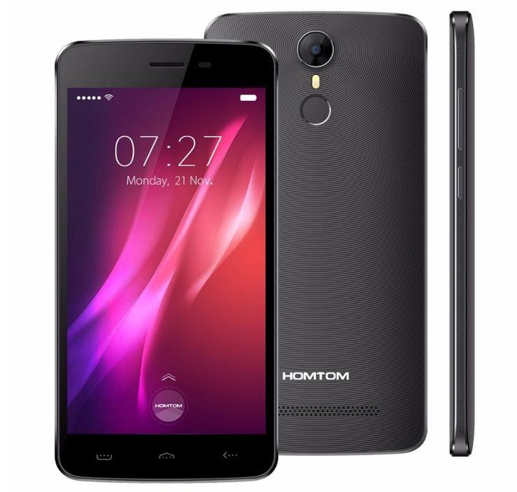 HOMTOM HT27 Black 5.5'' 1Gb 8Gb 4ядра 3000mAh 3G + Подарок