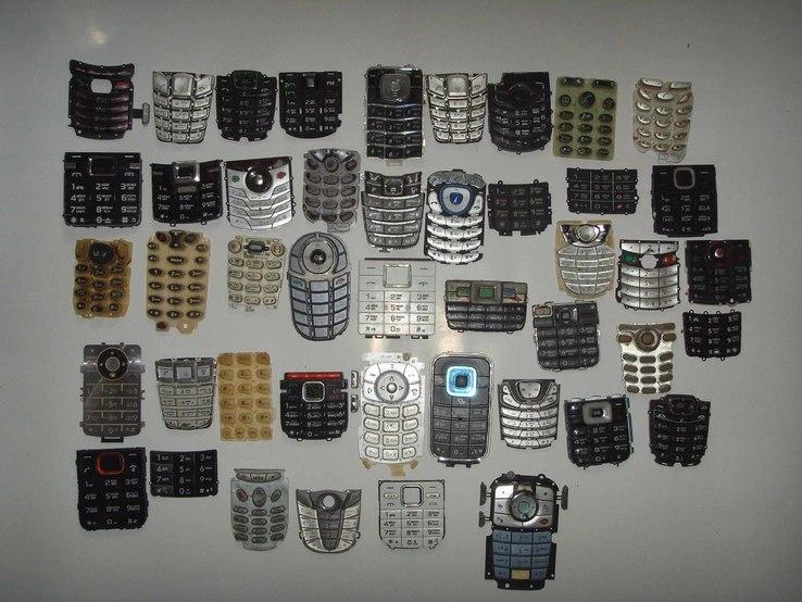 Клавиатуры от телефонов 45 шт.