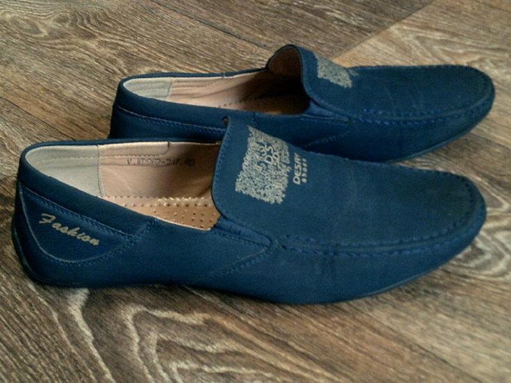 Desay shoes - легкие туфли мокасины разм.40