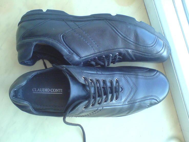 Туфли -мокасины  р-44 Кожа .