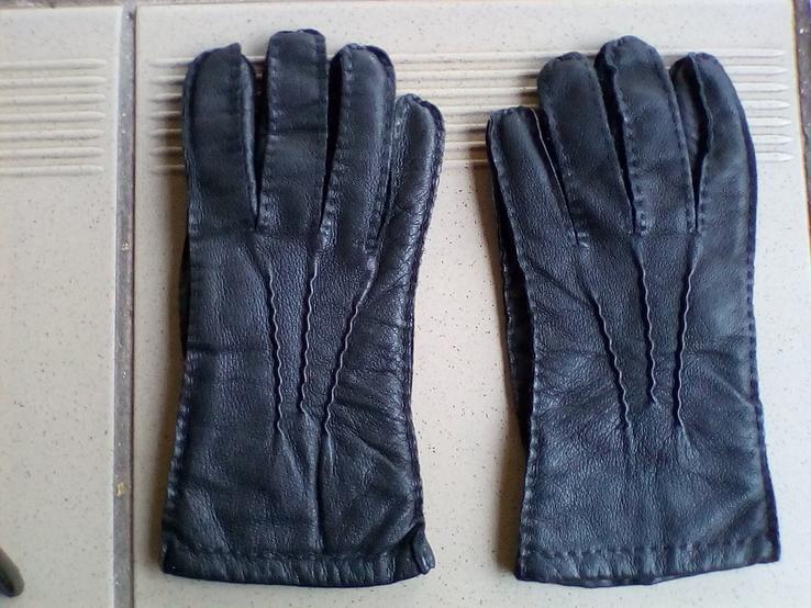 Мужские кожаные перчатки