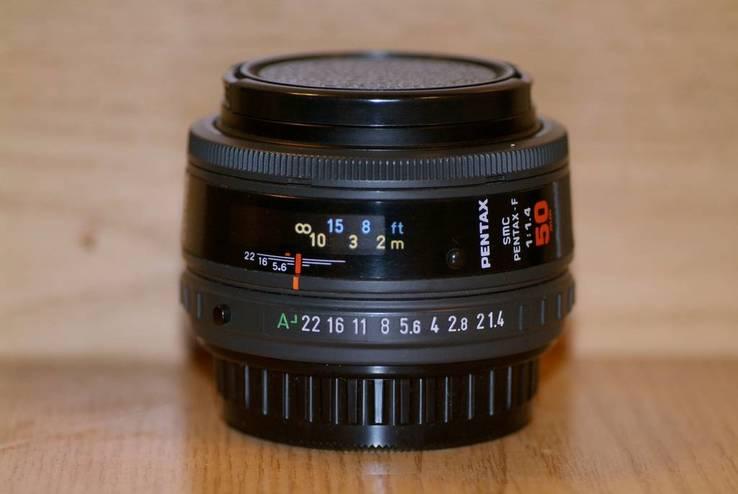 SMC Pentax-F f1.4/50mm