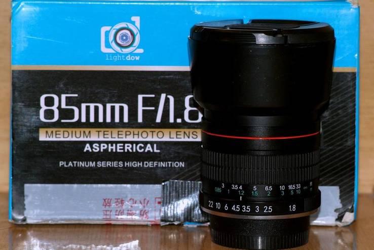 Light Dow(Vivitar, Opteka)f1.8/85mm