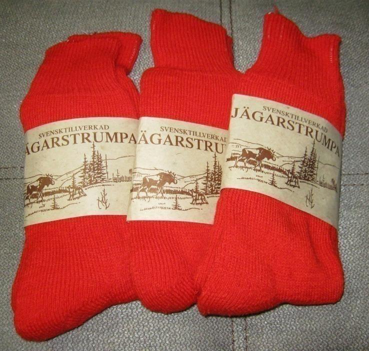 Набор теплых носков ,3 пары. Швеция