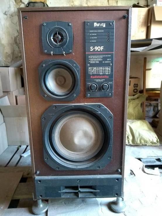 Звуковая колонка Radiotechnika S-90F HI-FI