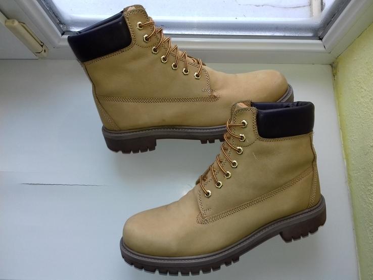 Ботинки АМ из Натуральной Кожи (Розмір-45\30)