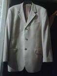 Пиджак жёлтого цвета в коричневую клетку. photo 2