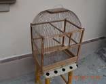 Клетка для птиц. Б/у. Размер 38х28 см. Высота 52 см.