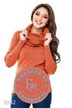 Тёплый свитер с хомутом Размер M/L