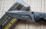 Тактический складной нож TAC-FORCE 919 с стропорезом, стеклобоем и клипсой.