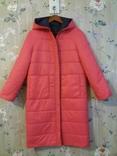 Куртка пуховик. Двухцветная, двухсторонняя. Новая