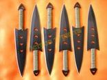 Ножи метательные 040 набор 6 шт с чехлом photo 4