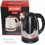 Электрочайник дисковый ATLANFA AT-H01 2200 Вт 2 photo 1