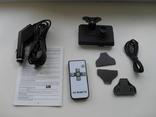 Видеорегистратор DVR HD128 SOS FullHD, G-сенсор, пульт управления photo 2