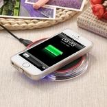 Универсальное беспроводное зарядное устройство на iPhone 5s 5C 6 6c 7plus 7 photo 1