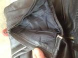 Кожаные байкирские штаны размер 36 photo 5