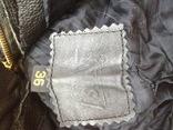 Кожаные байкирские штаны размер 36 photo 12