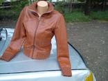 Куртка Vila из Натуральной Кожи photo 2