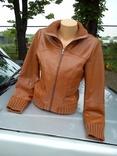 Куртка Vila из Натуральной Кожи photo 3