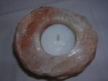 Подсвечник с Гималайской соли photo 2