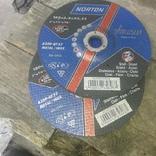 Круг зачистной NORTON 180*6.4*22.23 photo 2