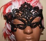 Кружевная карнавальная маска photo 7