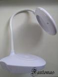 Настольная лампа «Трансформер» сенсорная, на 18650 аккумуляторе или USB. photo 4