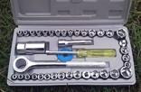 Набор инструментов с трещоткой в чемоданчике photo 1