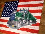 Флаг банер USA photo 2