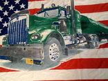Флаг банер USA photo 4
