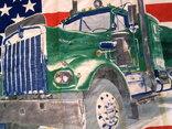Флаг банер USA photo 5