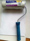 Валик велюр для лака 180мм под ручку 8 + ручка