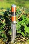 Нож Волк 15, стеклобой. Заводская заточка бреет. photo 1