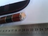Нож Волк 15, стеклобой. Заводская заточка бреет. photo 2