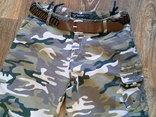 Now View - легкие камуфляж штаны с ремнем