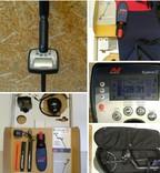 Металлоискатель minelab explorer se + мега комплект