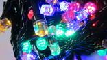 Новорічна гірлянда «Рубін» на 100 - 500 лампочок LED .Новогодняя гирлянда.