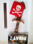 Набор пирата (бондана, кинжал) photo 2