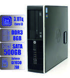 Игровой компьютер HP Intel Core i3 - 2 ядра 3.1GHz/8Gb-DDR3/HDD-500Gb/GeForce GT1030