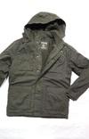 Парка олива новая. Куртка зимняя REGULAR FIT с капюшоном на флисе. Размер M photo 1