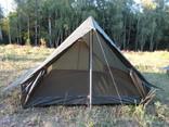 Палатка армии Франции олива с москитной сеткой photo 3