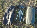 Палатка армии Франции олива с москитной сеткой photo 4