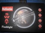 Тактический фонарик POLICE BL-T8626 + крепление для велосипеда photo 1