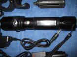Тактический фонарик POLICE BL-T8626 + крепление для велосипеда photo 3